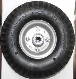 "10"" x 3"" FIlled No Flat Wheel 5/8"" Axle Use For Hand Truck W"