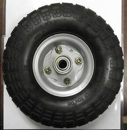 "10"" x 3"" Pneumatic Wheel 5/8"" Axle Use For Hand Truck Wheelb"