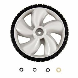 12-Inch Plastic Rear Wheel Replacement for Walk Behind Mower