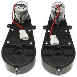 12V Power Wheels Gearbox and Motor for Jeep Ride On Toys 2 P