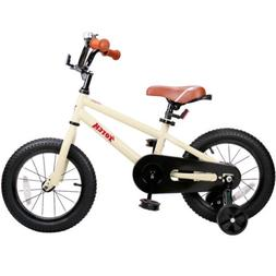 "JoyStar 14"" Kids Bike for Chilren 4 5 6 7 Year Old with Trai"