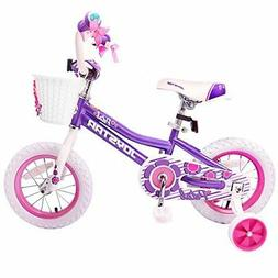 JoyStar 14 inch Kids Bike for Girls Children Bicycle with Tr