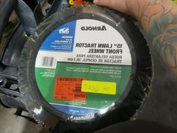 Arnold 15 in. Universal Lawn Tractor Front Wheel