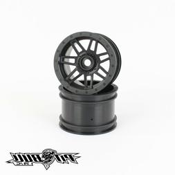 Pit Bull 2.2 Glue-On Wheel Raceline #931 Injector, Black  PB