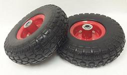 """Libra 2 New 10"""" Flat Free Solid Tire Wheel for Dolly Handtru"""