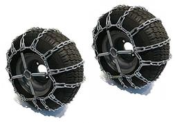The ROP Shop 2 Link TIRE Chains & TENSIONERS 20x8x8 for John