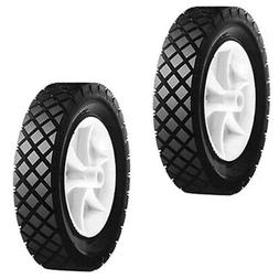 """2 Pack Push Lawn Mower 7"""" X 1.50"""" Front Wheels For Snapper 7"""