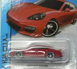 Hot Wheels 2014 HW City Porsche Panamera 40/250, Red