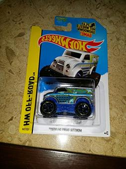 2014 Hot Wheels Hw Off-Road Monster Dairy Delivery