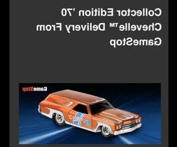 2019 Hot Wheels 1970 Chevelle Delivery GameStop Mail In PRE