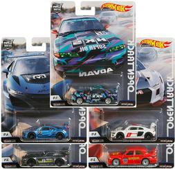 HOT WHEELS 2019 CAR CULTURE OPEN TRACK - SET OF 5 - FPY86-95