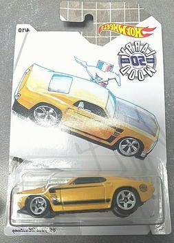 2019 HOT WHEELS *LARRY WOOD* '69 FORD MUSTANG* 4/10* 50 YEAR