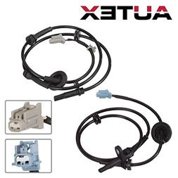AUTEX 2PCS ABS Wheel Speed Sensor Front Left & Right ALS286