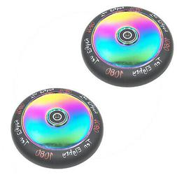 2X 1080 Ultra Solid Hollow Replacement 120Mm Scooter Wheels