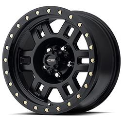 "Vision 398 Manx 15x8 5x139.7/5x5.5"" -19mm Matte Black Wheel"
