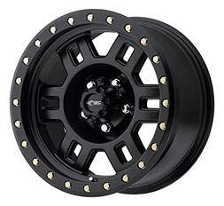 Vision 398 Manx Matte Black Wheel with Painted Finish