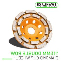 "4.5"" Diamond Grinding Cup Wheel Double Row Concrete Angle Gr"