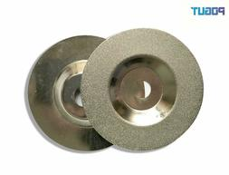 4 inch/100mm Diamond Coated Glass Grinding Disc Wheel For An