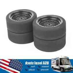 40R 4PCS 66mm Hex Foam Tires Wheel For 1:10 Scale RC RV Recr