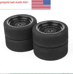 40R 4PCS Foam Tires Wheel For RV 1:10 Scale RC RV Recreation