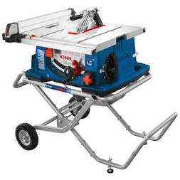 Bosch 4100-10 10 In. Worksite Table Saw with Gravity-Rise Wh