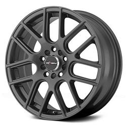 Vision 426 Cross Gunmetal Wheel with Painted Finish