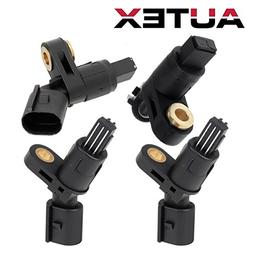 AUTEX 4PCS ABS Wheel Speed Sensor Front & Rear ALS465 ALS470