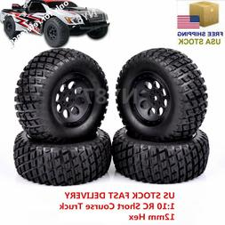 4X RC  Short Course Truck 12mm Hex Tires&Wheel 107mm For TRA