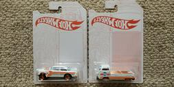 Hot Wheels 52nd Anniversary Pearl and Chrome Series Set of 2