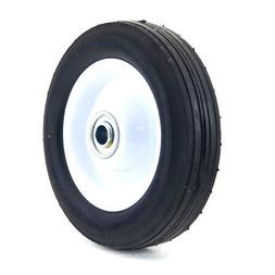 Arnold 6-Inch Steel Wheel With Diamond Tread - 50Lb. Load-Ra