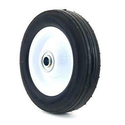6 Inch Steel Wheel With Diamond Tread - 50lb. Load-Rating 1