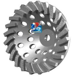 "7"" x24 SEG SPIRAL TURBO DIAMOND CUP WHEEL CONCRETE/BLOCK/MAS"