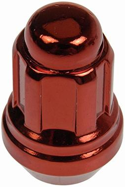 Dorman 711-235E Pack of 16 Red Wheel Nuts and 4 Lock Nuts wi