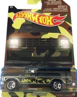 Hot Wheels Exclusive '79 Ford Pickup Camouflage Series Numbe