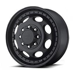 Vision 81 Hauler Single Matte Black Wheel with Painted Finis