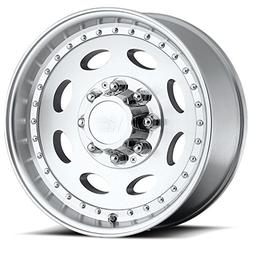 Vision Heavy Hauler 81 Series Machined Clear Coat Wheel
