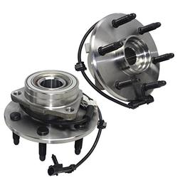 Detroit Axle- Both Front Driver Passenger Side Wheel Hub and
