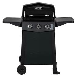 Dyna-Glo 3-Burner Open Cart Propane Gas Grill in Black