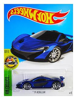 Hot Wheels 2016 HW Exotics McLaren P1 71/250, Blue