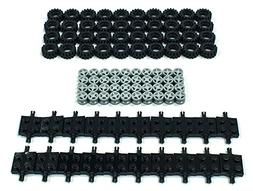 NEW Lego Tire, Wheel and Square Axles Bulk Lot - 100 Pieces