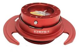 NRG Steering Wheel Quick Release Kit - Red Gen 3 - Part # SR