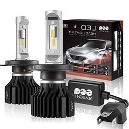 SEALIGHT H4/9003/HB2 LED Headlight Bulbs Conversion Kit, DOT