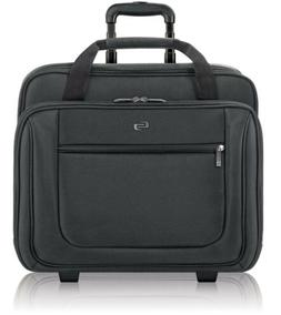 "Solo Bryant 17.3"" Rolling Laptop Case, Black"