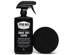 Tire Shine Spray - Best Tire Dressing Car Care Kit for Car T