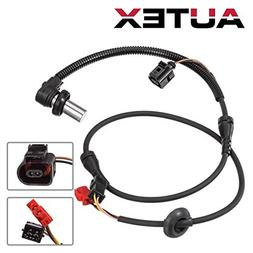 AUTEX ABS Wheel Speed Sensor 4B0927803C 8D0927803D ALS424 Fr