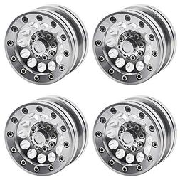 "MOHERO 1.9"" Alloy Beadlock Crawler Wheels Rims Set for RC 1/"