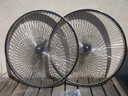 "BICYCLE 26"" STEEL WHEEL 140 SPOKES front OR rear CRUISER LOW"