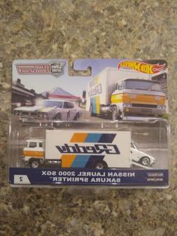 Hot Wheels Car Culture Team Transport Nissan Laurel 2000 GSX