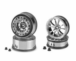 CHROME Jconcepts Tactic Set 4 Drag Front Rear Wheels 12mm He