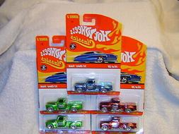 HOT WHEELS CLASSICS SERIES 3 52 CHEVY TRUCK LOT OF 5 WITH 3